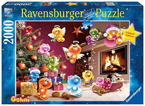 """Ravensburger 16643 - Gelini \""""Wilde Weihnachten\"""" - 2000 Teile Puzzle"""