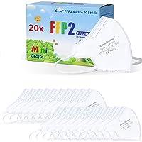 CESA kleine FFP2 Maske mini Mundschutz Atemschutzmaske Mund und Nasenschutz - 20 Stück + 1x FFP3