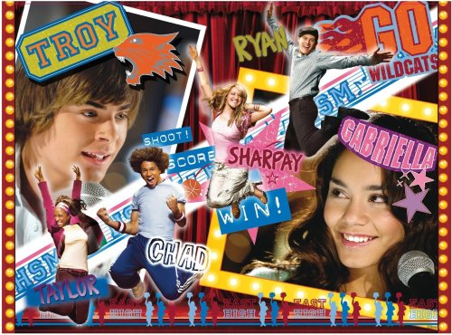 Ravensburger 14568 - High School Musical: Troy und Gabriella - 500 Teile Puzzle (Gabriella Aus High School Musical)