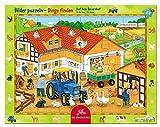 Spiegelburg Rahmenpuzzle Auf dem Bauernhof (24 Teile)