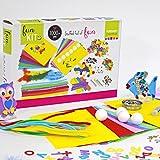 Vaessen Creative Kit per Hobby Bambini con Oltre 1000 Accessori Creativi, 32 x 22 x 6.5 cm