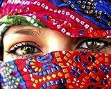 1art1 54800 Frauen - Arabische Augen Poster Kunstdruck 50 x 40 cm
