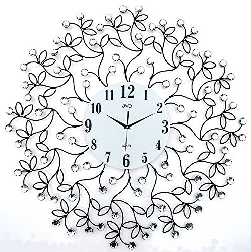 XL Orologio da parete orologio 70cm metallo orologio Ranken Meridiana con (Metallo Meridiana)