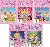 Prinzessin Lillifee DVD 1-5 im Set - Deutsche Originalware [5 DVDs]
