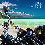 VRCT Tibetan Buddhist Prayer Flags for Motorbike