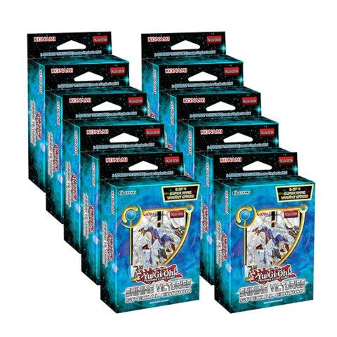 Shining Victories - Special Edition - Display Box (10 ct) by Yu-Gi-Oh! -
