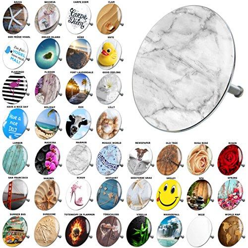 Badewannenstöpsel, viele schöne Badewannenstöpsel zur Auswahl, hochwertige Qualität  (Marmor)