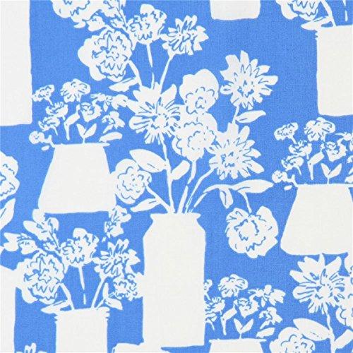 Cloud 9 Design Blume (Cloud Stoff mit Blumen, aus den USA, Kollektion: Bottle and Jar Bouquets, to Market, to Market, Design: Emily Isabella)