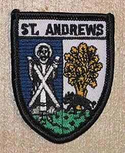 St. Andrews Fife Schottland Schottische Flagge bestickt Patch Badge