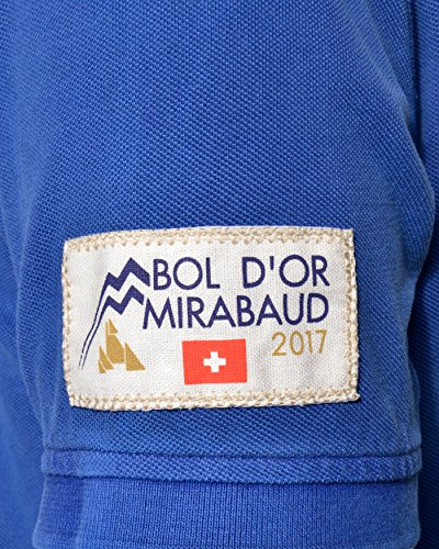 Bol d'Or Polo Washed Blue