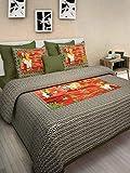 AS42 Sanganeri Printed Double Bedsheet W...