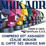 MACCHINA DA CAFFE' FROG REVOLUTION GIALLA CIALDE CARTE 44 MM