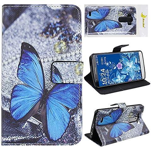 LG G3 Chiusura magnetica Custodia Case, Moon