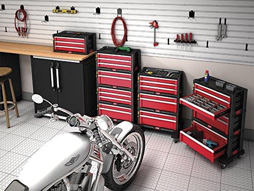 Keter Schubladenschrank mit Rädern - 4
