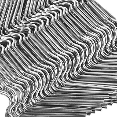120 Stück ✔ Gewächshaus Klammern
