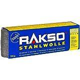 Oscar Weil 00302108 RAKSO staalwol, 200 g fijn 8 stuks