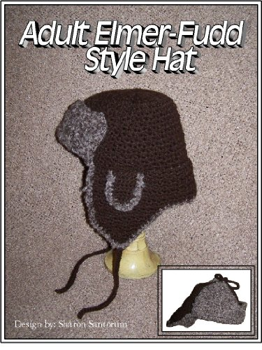 adult-elmer-fudd-style-hat-crochet-pattern-english-edition