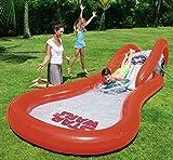 Scivolo gonfiabile star wars con piscina per bambini bestway gioco d'acqua