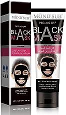 Mousand Blackhead Remover Maske, Peel Off Black Maske, Clear Pores & Akne, Aktivkohle Cleansing Removal Streifen Maske