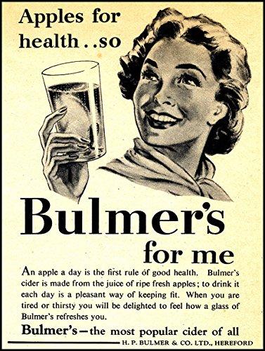bulmers-metal-publicidad-para-la-pared-retro-arte
