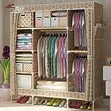 1,5S oder ein Zimmer mieten Verstärkung bold Holz Schrank Kleiderschrank Tuch Oxford einfach zugeben, dass der Schrank , Breite 150 cm Tiefe 45 cm* 170cm hoch