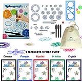 MC CHENMEI® Espirógrafo Deluxe Set juguetes educativos juguetes espirógrafo conjunto de dibujos para adultos Spirograph