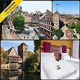 –Faros de viaje En Viajes de 3días Nürnberg en el Hotel Burg chmiet * * * con Bratwurst comer–cupones kurzreise Viajes viaje regalo