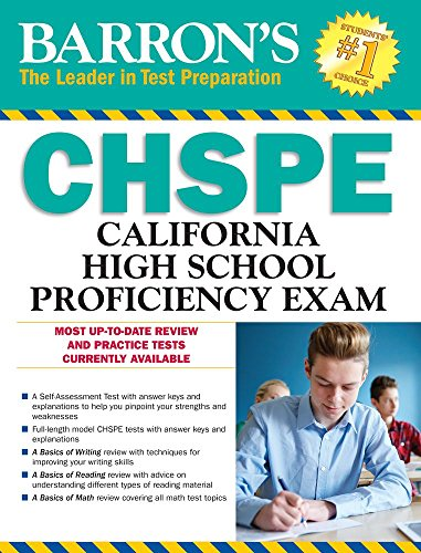 Barron's CHSPE: California High School Proficiency Exam (Barron's Test Prep CA) (Ca Ged)