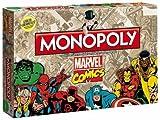 Winning Moves WIN44338 - Monopoly: Marvel Comic Retro Spiel - Deutsch