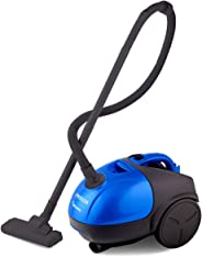 INALSA Vacuum Cleaner Gusto-1000W with Blower and 1.5L Washable Cloth Filter Bag, 100% Copper Motor, Powerful 16KPA Suction