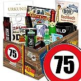 Männer Paket | Geburtstag 75 | Geschenk Box Opa | Männer Geschenke