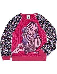 Mattel Monster High Girls' BOOtiful Long Sleeve Crew Neck Sweatshirt
