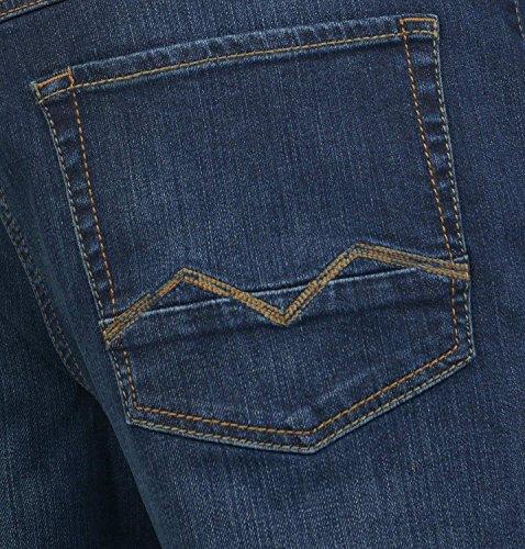 MAC Herren Straight Leg Jeanshose Arne Pipe dark vintage wash