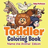 Toddler Coloring Book | Name the Animal Edition