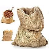 STI Sacco Juta 70x120 Neutro Naturale caffè Cereali Tela yuta Regali 1 Pezzo