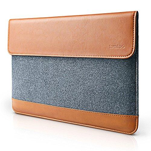 tomtoc Slim Laptop Sleeve Case kompatibel mit Apple MacBook Pro Touch Bar 15