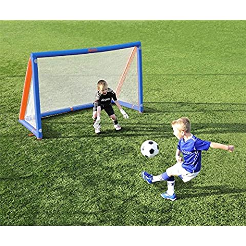 Generic UK150606–040< 1& 3346* 1> Sportse de balón de fútbol de balón de fútbol niños airpro meta capacitación Match 6x 4ft hinchable Post Red deportes niños airpro