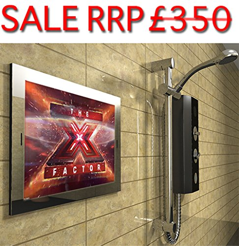 19 2016 SARASON Advanced Waterproof Bathroom Television TV Mirror Screen HD Ready Digital Freeview