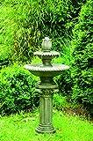 KÖHKO Wasserspiel Chemnitz Klassischer Etagenbrunnen Vogelbad 13009 Springbrunnen Gartenbrunnen
