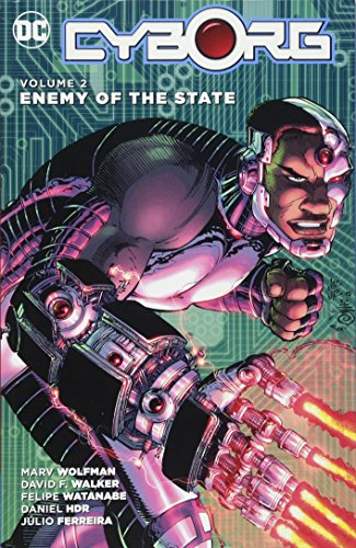 Cyborg TP Vol 2 Enemy oOf The State Cover Image