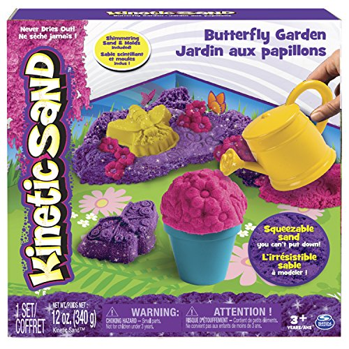Spin Master 6037299 - Kinetic Sand - Butterfly Garden Set (340 g)