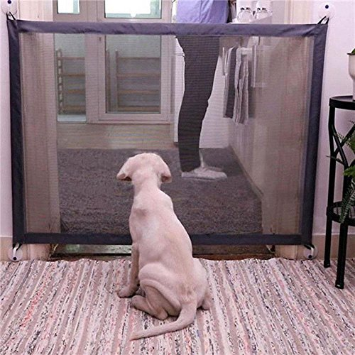 Aolvo Pet Hund Safe Guard, tragbarer, Faltbarer Pet Sicherheit Gehäuse Isolation Net installieren...