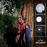HIILIGHT LED Taschenlampe 2000 CREE XM-L T6 schwarz -