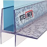 STEIGNER Duschdichtung, 70cm, Glasstärke 5/6 mm, Gerade PVC Ersatzdichtung für Dusche, UK16