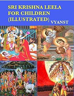 Sri Krishna Leela for Children (Illustrated): Tales from Indian