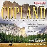 Copland: Orchesterwerke Vol. 3