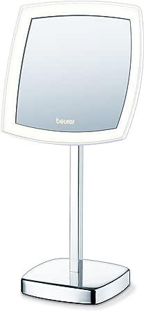 Beurer BS 99 LED Kosmetikspiegel, beleuchtet, mit Standfuß, 5-fache Vergrößerung