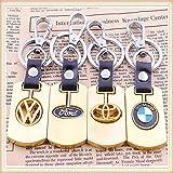 Volkswagen Keyring Gold