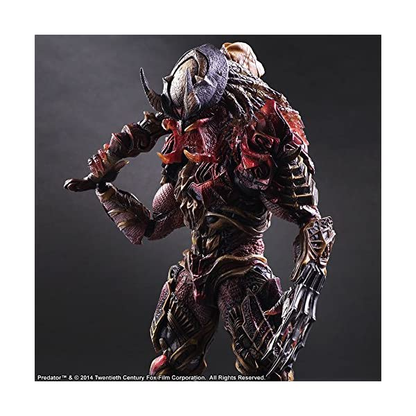 Square Enix Predator Variant Play Arts Kai Figura de acción 5