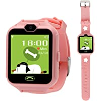 Hangang Smartwatch Phone Smart Kid giochi per fotocamera touch screen Cool Toys orologi, orologi da gioco per bambini…